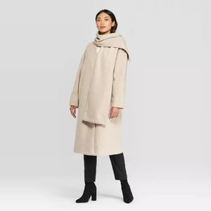 Women's Prologue Jacket And Scarf Set  Beige